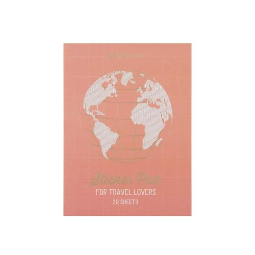 Sticker Pad Artebene - For travel lovers