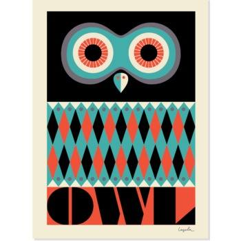 Juliste Omm Design - Owl
