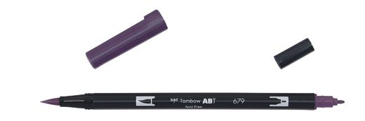 Tombow Dual Brush - ABT 679 Dark plum