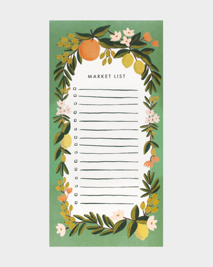 To do -lista Rifle Paper Co. - Citrus Floral Julep