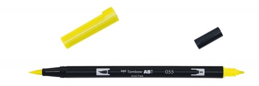 Tombow Dual Brush - ABT 055 Process yellow
