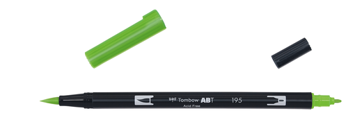 Tombow Dual Brush - ABT 195 Light green