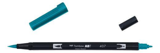 Tombow Dual Brush - ABT 407 Tiki teal