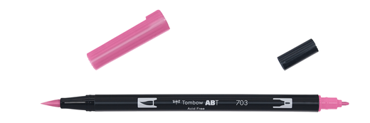 Tombow Dual Brush - ABT 703 Pink rose