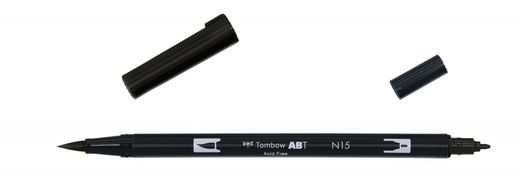 Tombow Dual Brush - ABT N15 Black