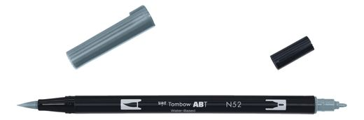 Tombow Dual Brush - ABT N52 Cool gray 8