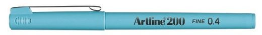 Artline 200 writing pen 0.4mm - Light blue