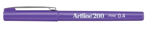 Artline 200 writing pen 0.4mm - Purple