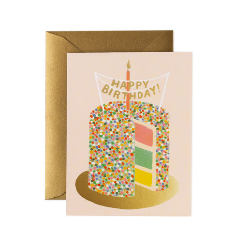 Onnittelukortti Rifle Paper Co. - Layer Cake Birthday