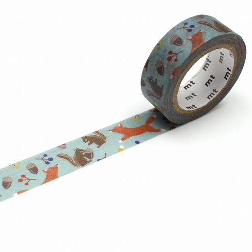 MT Masking tape - Fox and squirrel