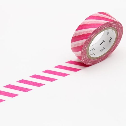 MT Masking tape - Stripe magenta