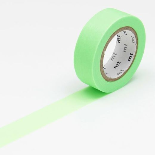 MT Masking tape - Shocking green