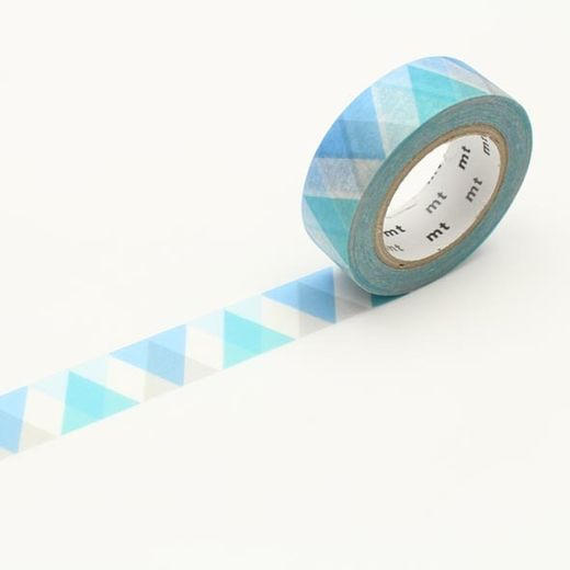 MT Masking tape - Triangle and diamond blue