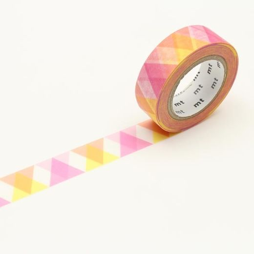 MT Masking tape - Triangle and diamond pink