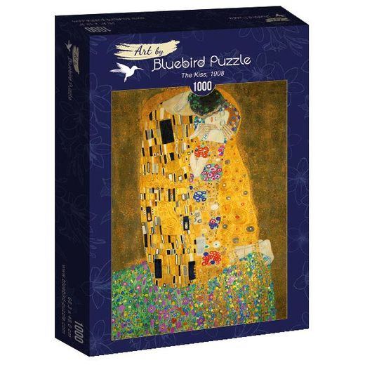 Palapeli Bluebird - Gustave Klimt: The Kiss, 1908 (1000 palaa)