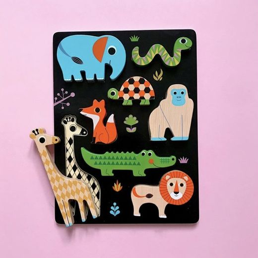 Palapeli Omm Design - Chunky animal puzzle