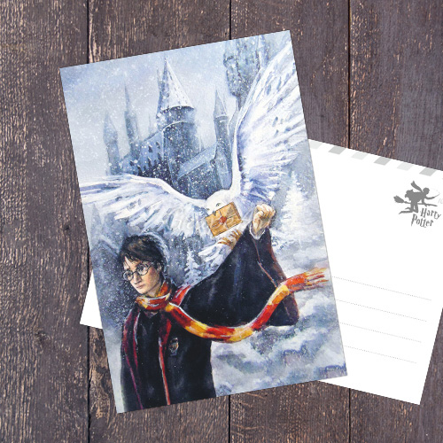 Postikortti Harry Potter - Letter to Harry
