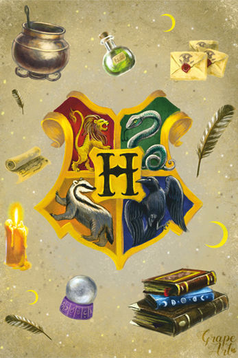 Postikortti Harry Potter - School of Witchcraft and Wizardry