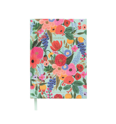 Rifle Paper Co. Fabric Journal muistikirja - Garden party