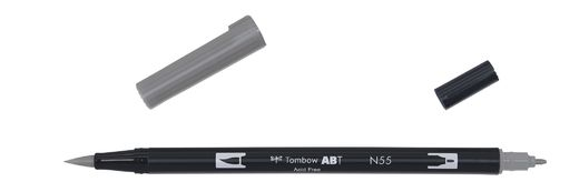 Tombow Dual Brush - ABT N55 Cool grey 7