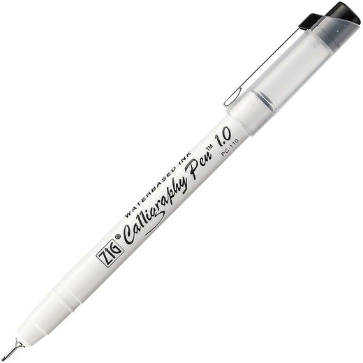 ZIG Calligraphy Pen 1.0mm - Black