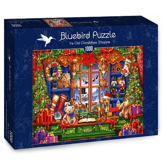 Palapeli Bluebird - Ye Old Christmas Shoppe (1000 palaa)