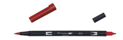 Tombow Dual Brush - ABT 856 Poppy red