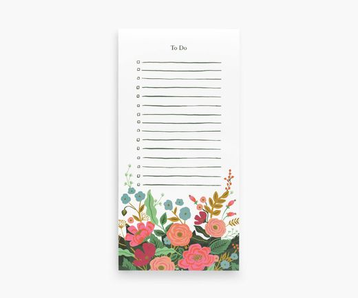 To do -lista Rifle Paper Co. - Floral vines