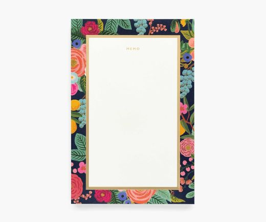 Memo notepad Rifle Paper Co. - Garden Party