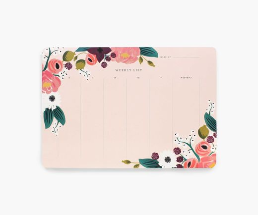 Weekly list Rifle Paper Co. - Pink floral