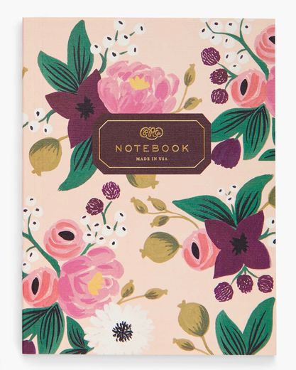 Vihko Rifle Paper Co. A5 - Vintage blossoms nude