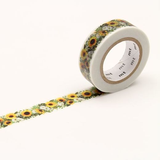 MT Masking tape - Sunflower